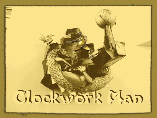 Clockwork Man, by ds bigham