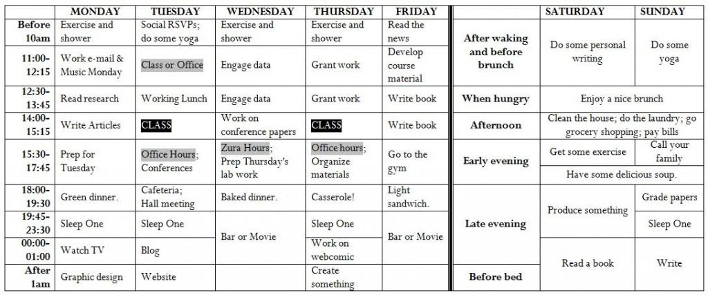 Schedule-Fall2013