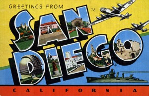 Greetings from San Diego!